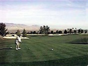 Golfing in Borrego